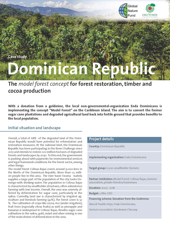 FLR Case Study Dominican Republic