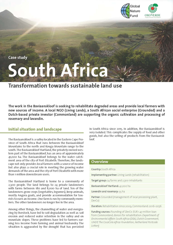 FLR Case Study South Africa